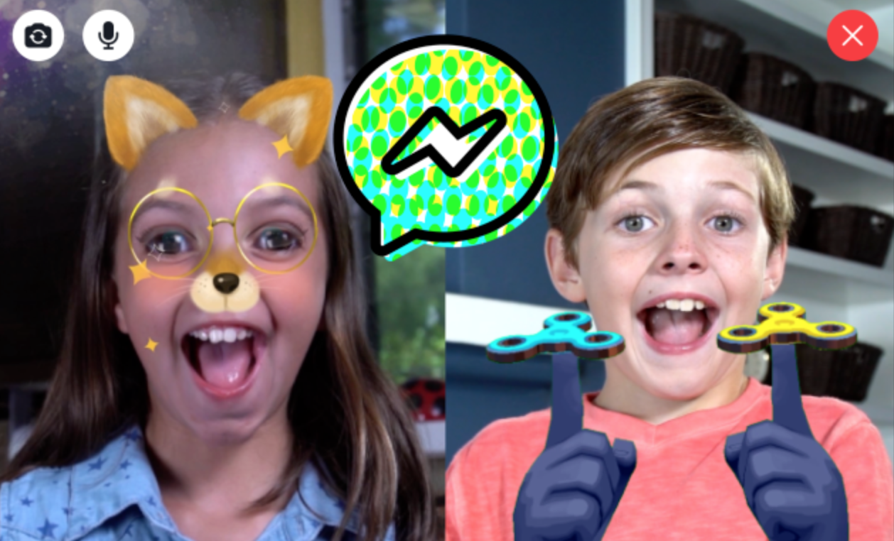 Facebook Starts New Messenger Program for Kids